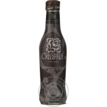 Напиток Кримэль Капучино слабоалкогольный негазированный стеклянная бутылка 8.5%об. 200мл Украина
