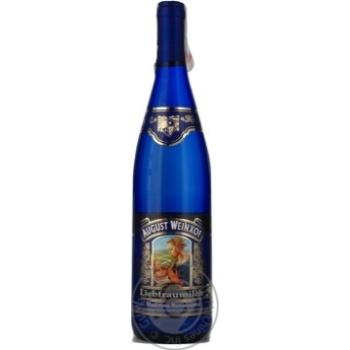 Вино Август Вайнхоф Молоко Любимой Женщины Мадонна Ренесанс белое полусладкое 9,5% 0,75л - купить, цены на МегаМаркет - фото 4
