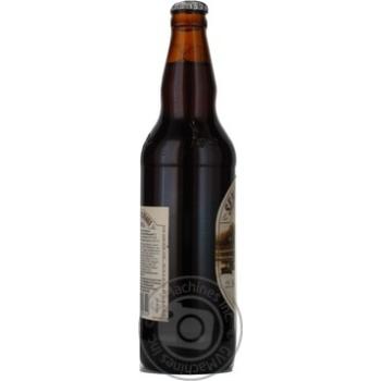 Пиво Вильнюс Алус Сенойо темное пастеризованное стеклянная бутылка 5.6%об. 500мл Литва - купить, цены на Novus - фото 4