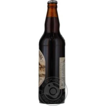 Пиво Вильнюс Алус Сенойо темное пастеризованное стеклянная бутылка 5.6%об. 500мл Литва - купить, цены на Novus - фото 2