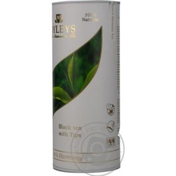 Черный чай Хэйлис байховый среднелистовой с чайными почками 100г туба Шри-Ланка
