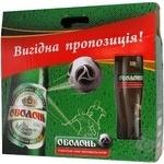 Пиво Оболонь светлое 4.5% 500мл Украина