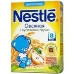 Oatmeal porridge Nestle with pear pieces for 8+month babies 250g Russia