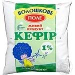 Кефир Волошкове Поле 1% пленка 500г Украина