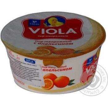 Сир творожний 27% Viola з апельсином 150г