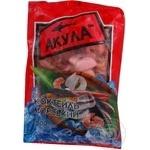 Коктель з морепродуктів Акула сироморожені 500г Україна