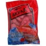 Seafood shrimp Akula uncleaned 500g Ukraine
