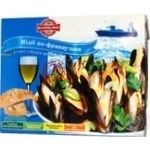 Seafood mussles Karolina frozen 450g Ukraine