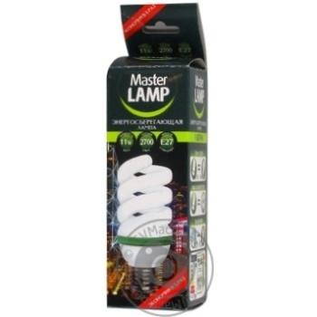 Лампа енергозберiгаюча MASTER LAMP цоколь E27,11W