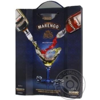 Набір Вермут Marengo Bianco+Rosso 2*0.5л х3
