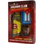 Havana Club Anejo Rum 40% 1l + 1 glass + cocktails recipes booklet