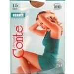 Tights Conte Nuance natural polyamide for women 15den 4size - buy, prices for Novus - image 2