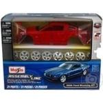 Автомодель збірна 1:24 2006 Mustang GT Coupe Maisto 39997 red