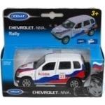 Машинка металева Welly Chevrolet ралі