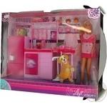 Набір ляльковий Штеффі та кухня Simba 3+