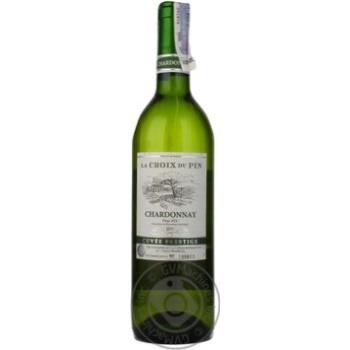 Вино La Croix du Pin Chardonnay Pays D'OC белое сухое 12.5% 0,75л