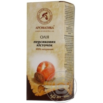 Олія Ароматика персикових кісточок 50мл - купити, ціни на Ашан - фото 7