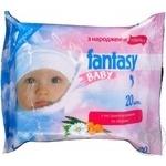 Серветка волога дитячя Fantasy Baby 20шт
