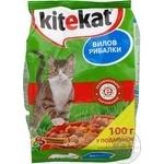 Корм для котів сухий Kitekat Вилов рибалки 1000г
