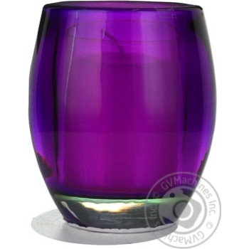 Свічка у склі бузкова Bolsius 100*84мм