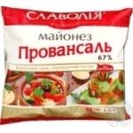 Майонез Славолія Провансаль 67% ф/п 390г