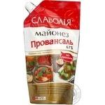 Майонез Славолія Провансаль 67% д/п 400г