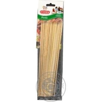 Палички Eventa бамбукові 24шт/уп - купити, ціни на Фуршет - фото 4