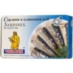 Сардины Вижиланте в оливковом масле 120г железная банка Испания