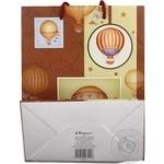 Пакет паперовий для подарунку Хеппіком GBМE12/1/2 23*18см - купить, цены на Novus - фото 2