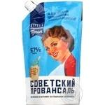 Mayonnaise Radyanskiy provansal Provansal 67% 410g doypack Ukraine