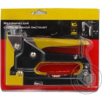Степлер InterTool механічний 4-14мм