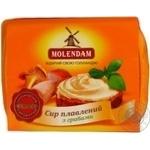 Сыр Молендам плавленый с грибами 45% 160г Украина