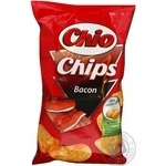 Potato chips Chio Chips with bacon taste 150g Poland
