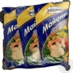 Майонез Родына Классический 67% 190г х 5шт Украина