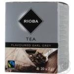 Чай Риоба черный с бергамотом 2г х 20шт
