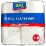 Toilet paper Aro 4pcs 430g Ukraine
