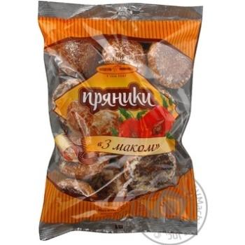 Пряники Київхліб з маком 500г