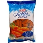 Fish sticks Vici fish precooked 1000g sachet Lithuania