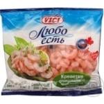Креветки Vici Любо Есть очищенные варено-мороженые 300г