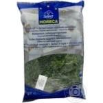 Овощи шпинат Хорека селект замороженная 1000г полиэтиленовый пакет Бельгия