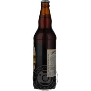 Пиво Вильнюс Алус Сенойо темное пастеризованное стеклянная бутылка 5.6%об. 500мл Литва - купить, цены на Novus - фото 8