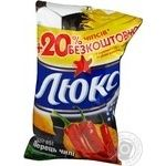 Chips Lux potato with chili pepper 80g Ukraine