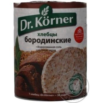 Хлібці Бородинскі Dr.Korner 100г