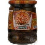 Mushrooms honey fungus Ekoproduct salt 580g glass jar Russia