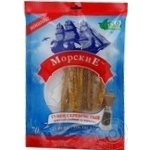 Snack tuna Morskie Silver pepper salted dried 70g Ukraine