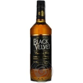 Виски Black Velvet 3 года 40% 0,7л - купить, цены на Novus - фото 1