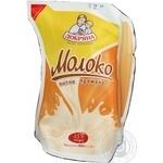 Молоко Добряна топленое 2.5% 900г полиэтиленовый пакет Украина