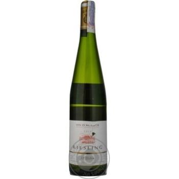 Вино біле сухе Riesling JP Muller 0,75л