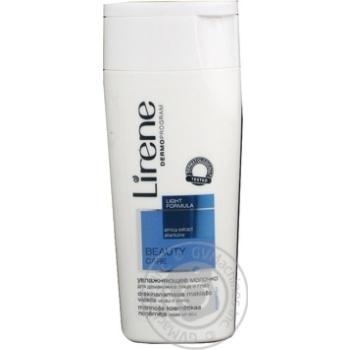Скидка на молочно для обличчя нормальна та комбінованна шкіра 200мл lirene