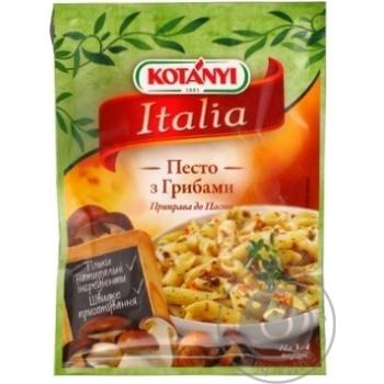 Приправа к пасте Kotanyi Песто с грибами 30г - купить, цены на Novus - фото 2
